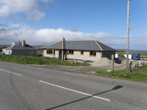 New house for Alex Dan MacLeod (Mac Dhòmhnaill Helm) 16 Upper Barvas