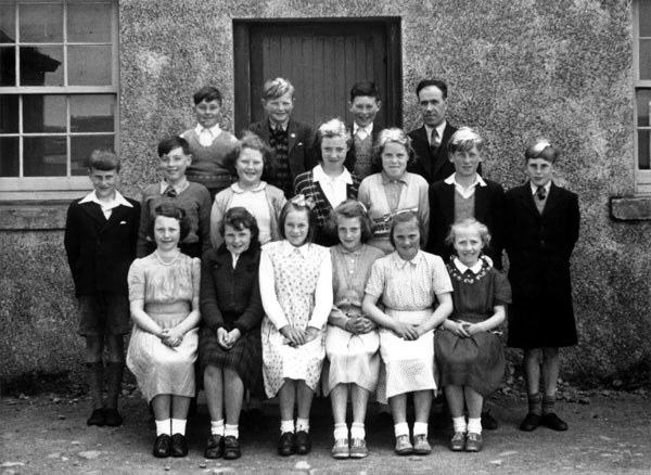Barvas School Former Pupils - 1953